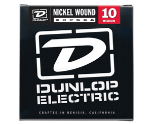 Dunlop DEN1046 Light 10-46 Medium Nickel Guitar Strings Electric Guitar Strings Dunlop