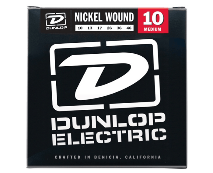 Dunlop DEN1046 Light 10-46 Medium Nickel Guitar Strings