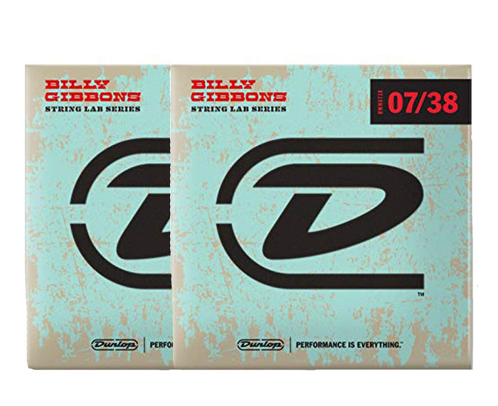 Dunlop Rev Willy's Lottery Brand 7-38 Electric Guitar Strings 2-Pack