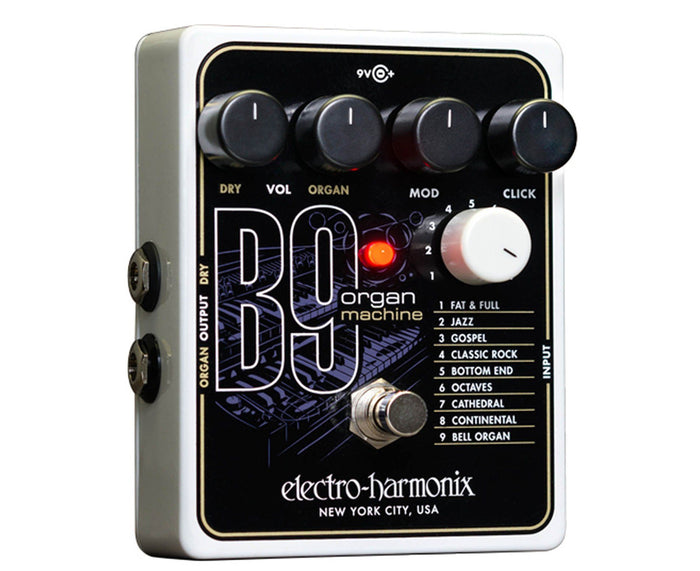 Electro-Harmonix EHX B9 Organ Machine (B 9) Guitar Effects Pedal