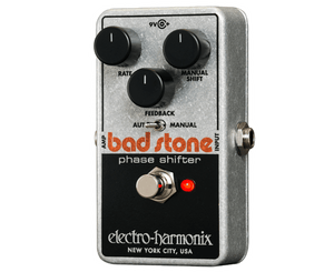 Electro-Harmonix EHX Nano Bad Stone Phase Shifter / Phaser Guitar Effects Pedal - Megatone Music