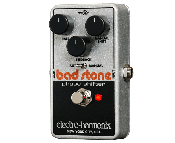 Electro-Harmonix EHX Nano Bad Stone Phase Shifter / Phaser Guitar Effects Pedal