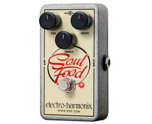 Electro Harmonix EHX Soul Food Transparent Overdrive Distortion - Megatone Music