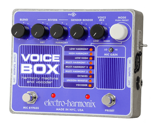 Electro-Harmonix EHX Voice Box Vocal Vocoding Synth Processor and Harmonizer - Megatone Music