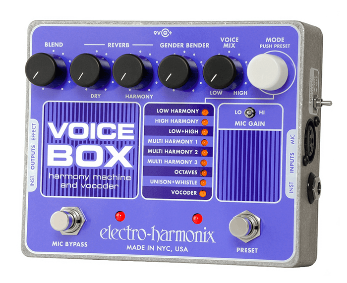 Electro-Harmonix EHX Voice Box Vocal Vocoding Synth Processor and Harmonizer