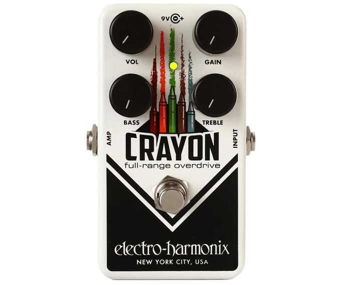 Electro-Harmonix EHX Crayon 69 Full-Range Overdrive Effects Pedal