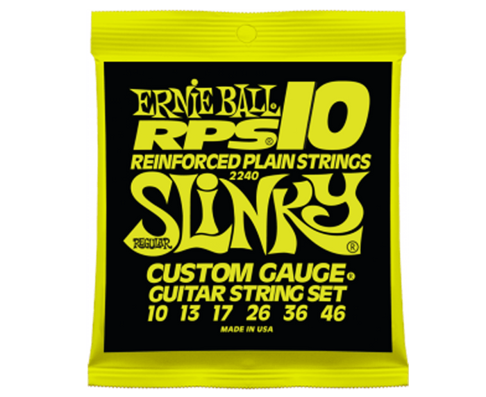Ernie Ball 2240 RPS-10 Slinky 10-46 Electric Guitar Strings