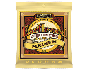 Ernie Ball 2002 Earthwood 80/20 Bronze 13-56 Acoustic Guitar Strings