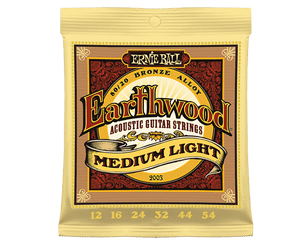 Ernie Ball 2003 Earthwood 80/20 Bronze 12-54 Acoustic Guitar Strings Acoustic Guitar Strings Ernie Ball