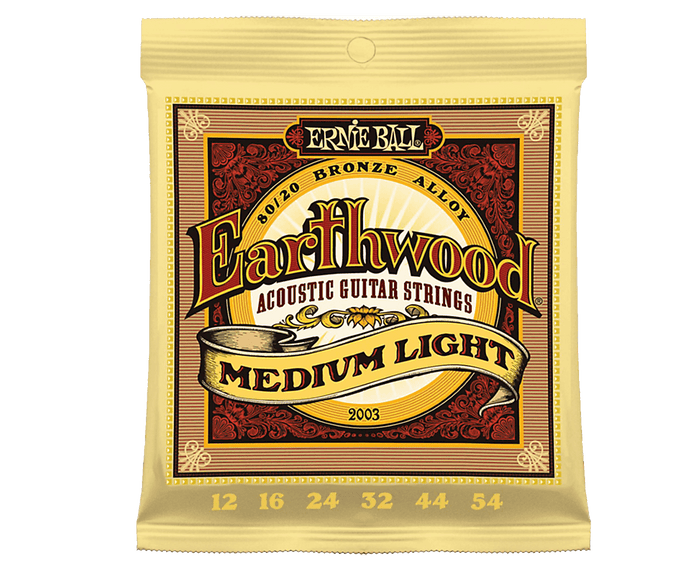 Ernie Ball 2003 Earthwood 80/20 Bronze 12-54 Acoustic Guitar Strings