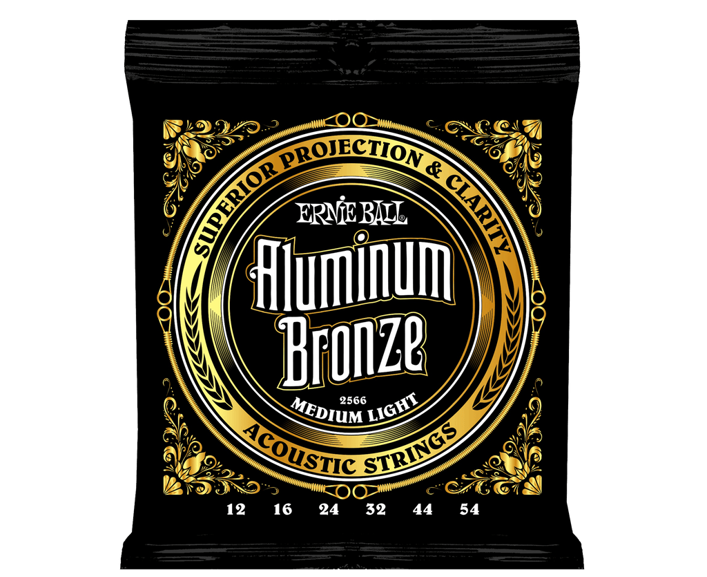 Ernie Ball 2566 Aluminum Bronze Acoustic Strings .012-.054 - Megatone Music