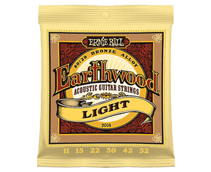 Ernie Ball 2004 Earthwood 80/20 Bronze 11-52 Acoustic Guitar Strings - Megatone Music