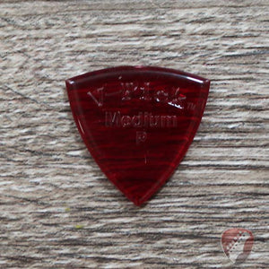 V-Picks Ruby Red Medium Pointed Custom Guitar Pick 2.75mm Picks V-Picks