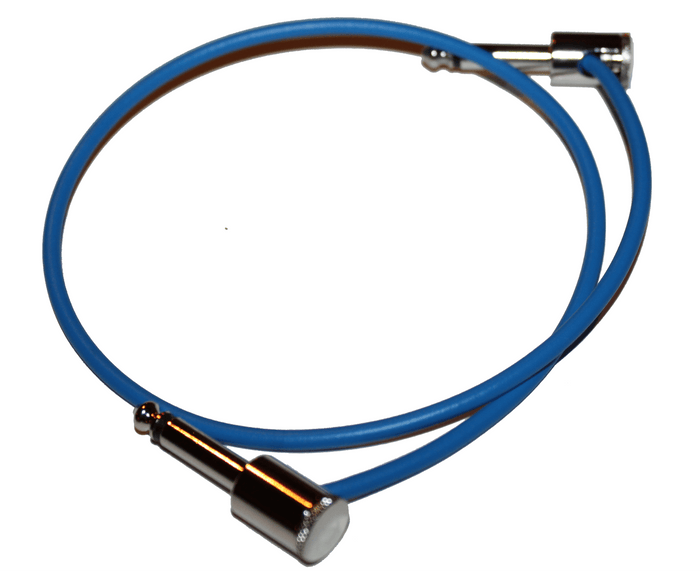 "George L's 20"" Nickel Effects Cable in Blue"
