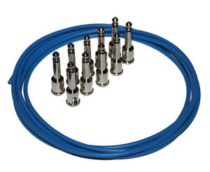 George L's Pedalboard Cable Kit in Blue Pedalboard Cable Kit George L's