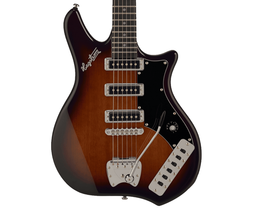 Hagstrom Retroscape Condor Electric Guitar in Brown Burst - Megatone Music