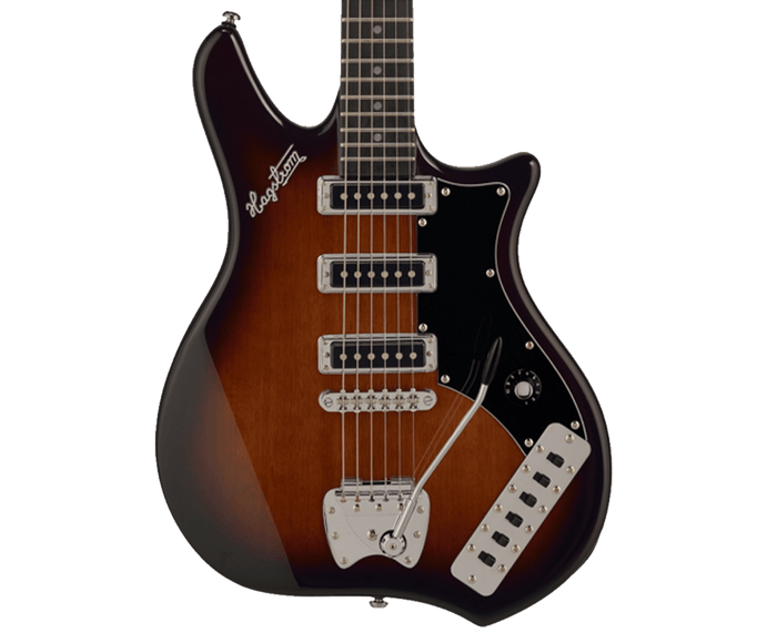Hagstrom Retroscape Condor Electric Guitar in Tobacco Sunburst