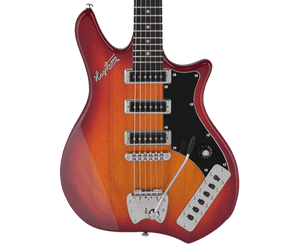 Hagstrom Retroscape Condor Electric Guitar in Cherry Sunburst - Megatone Music