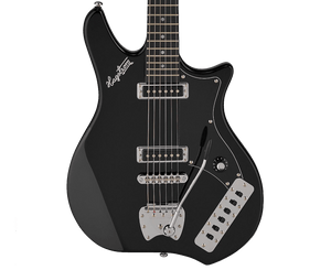Hagstrom Retroscape Impala Electric Guitar in Black Electric Hagstrom