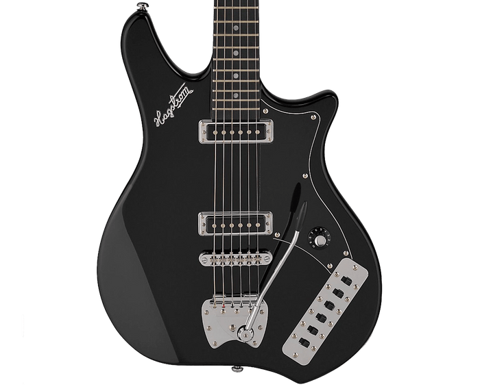 Hagstrom Retroscape Impala Electric Guitar in Black