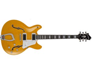 Hagstrom Super Viking Electric Guitar in Dandy Dandelion - Megatone Music