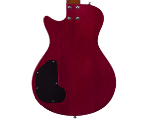 Hagstrom Ultra Swede ESN Electric Guitar in Wild Cherry Transparent - Megatone Music