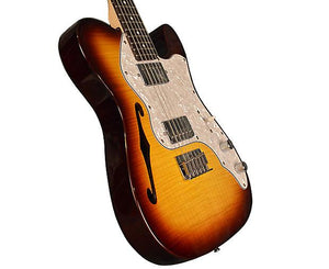Vintage Reissue V72HFTB Custom Spec TL Electric Guitar In Flamed Tobacco Burst Electric Vintage Reissue