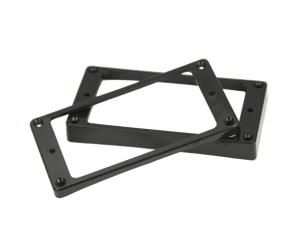 Allparts Curved Black Humbucking Pickup Ring Set for Epiphone Guitars Pickup Rings Allparts