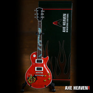 Axe Heaven Slash Signature Red Snakepit Miniature Guitar Replica Collectible