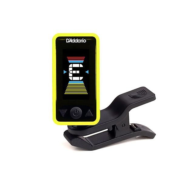 DAddario Eclipse Headstock Tuner in Yellow