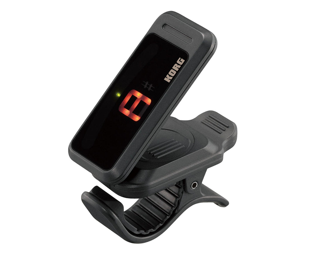 Korg Pitchclip PC1 Clip-On Chromatic Tuner In Black - Megatone Music