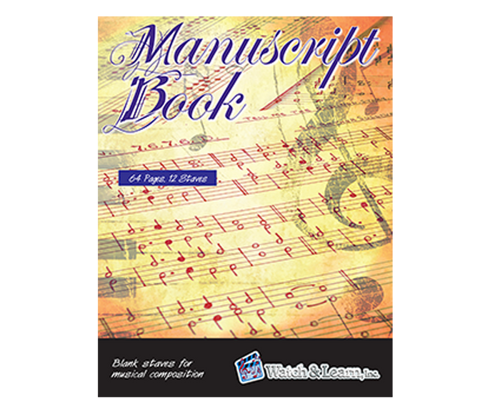 Watch and Learn Manuscript Book