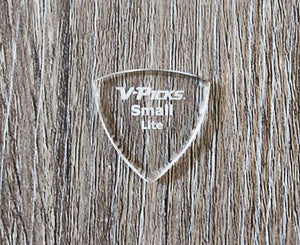 V-Picks Small Lite Pointed Custom Guitar Pick 1.5mm 3-Pack Picks V-Picks