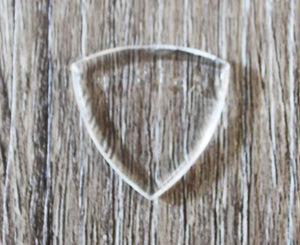 V-Picks Small Pointed 2.75mm Clear Custom Guitar Pick - Megatone Music