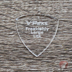 V-Picks Lite Freakishly Large Pointed Custom Guitar Picks 1.5mm Picks V-Picks