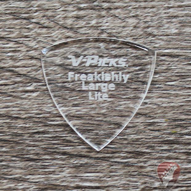V-Picks Lite Freakishly Large Pointed Custom Guitar Picks 1.5mm