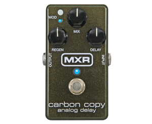 MXR M169 Carbon Copy Analog Delay Effects Pedal Delay MXR