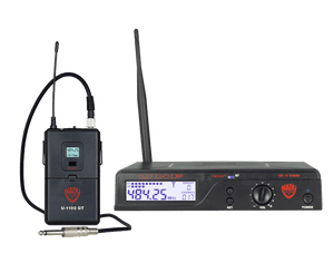 Nady U-1100 GT Instrument Bodypack Wireless System Instrument Wireless System Nady
