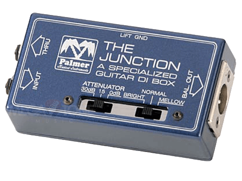 "New! Palmer Audio PDI-09 ""The Junction"" DI Box for Guitarist"