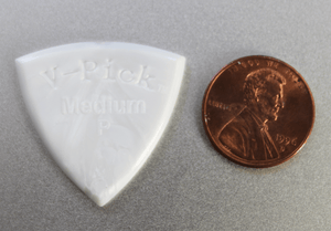 V-Picks Pearly Gates Medium Pointed 2.75mm - Megatone Music