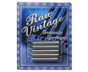 Raw Vintage Tremolo Spring Set (5) - Fender Stratocasters RVTS-1 - Megatone Music