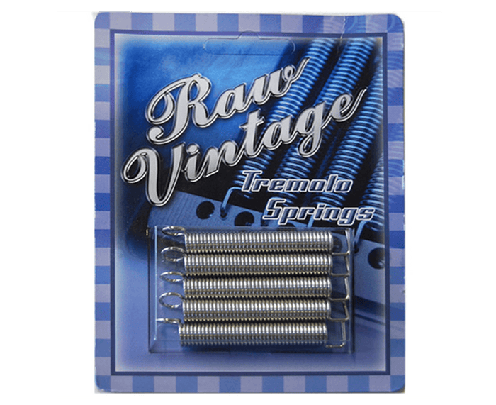 Raw Vintage Tremolo Spring Set (5) - Fender Stratocasters RVTS-1