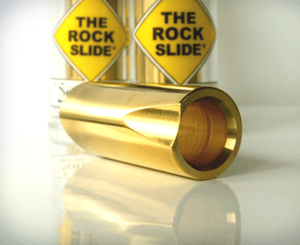 The Rock Slide Original Polished Brass - X-Large - Megatone Music