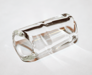The Rock Slide Precision Molded Clear Glass - Medium - Megatone Music