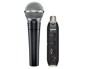 Shure SM58-X2u USB DIGITAL BUNDLE - Megatone Music