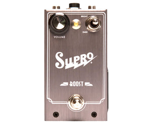 Supro Boost JFET Pedal With Volume Expression Jack Boost Supro