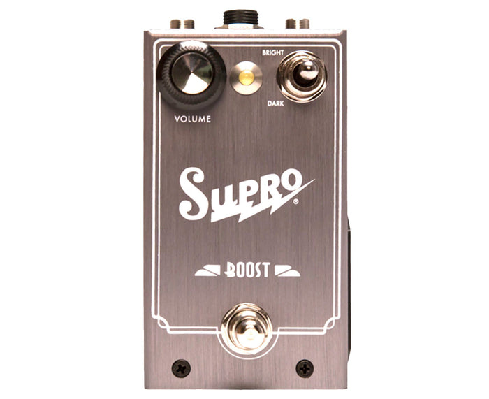 Supro Boost JFET Pedal With Volume Expression Jack