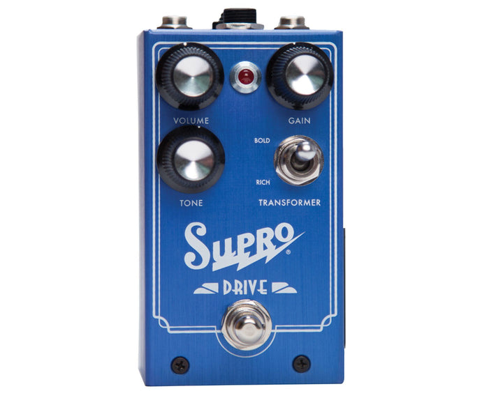 "Supro Drive ""Class A"" Overdrive Pedal"