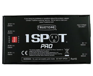 Truetone 1 Spot Pro CS6 Pedal Power Supply Power Supply Truetone