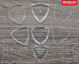 V-Picks 7-Piece Starter Pack of Custom Guitar Picks - Megatone Music